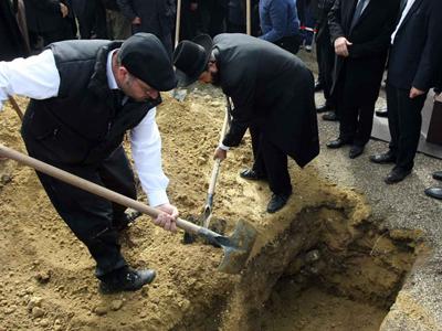 Rituel d'un enterrement
